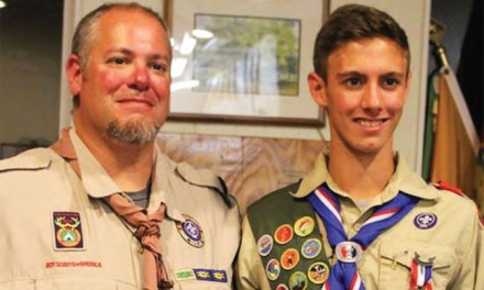 Local Boy Scout earns Eagle Award