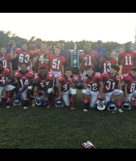 PASS CHRISTIAN MIDDLE SCHOOL PIRATES WIN CONFERENCE
