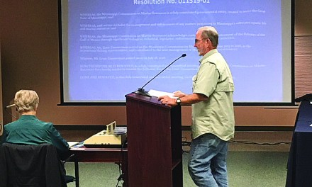 COMMISSION TABLES REGULATION CHANGE, APPROVES TIDELANDS PROPOSAL