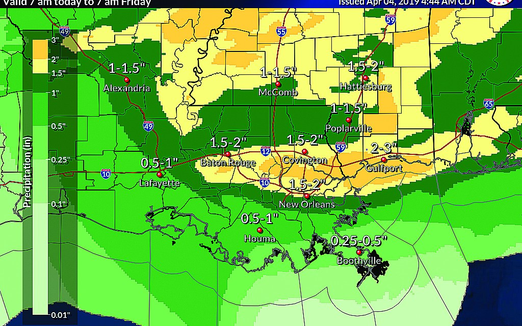 FLOOD WATCH ISSUED FOR HARRISON COUNTY THROUGH THIS EVENING