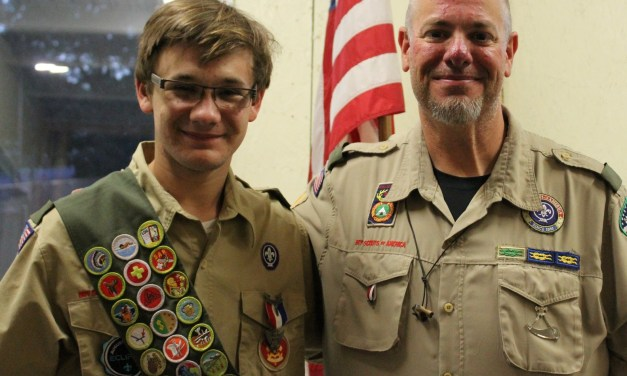 Wittmann Achieves Eagle Scout Rank