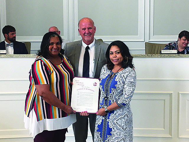 Long Beach Board of Alderman Focus on Legal Matters