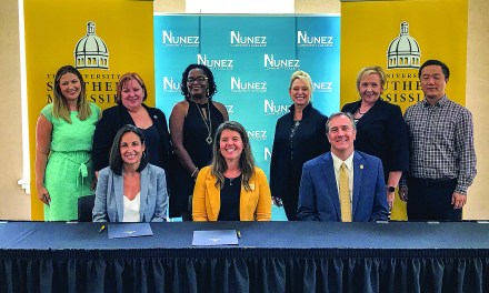 USM and Nunez Community College Partner on New Pathways Agreement
