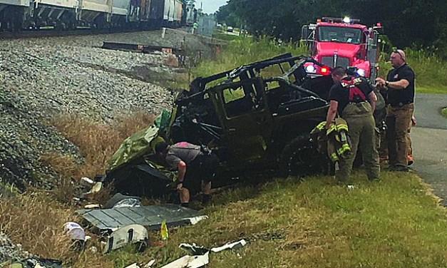 Fatal Train Wreck at Pass Railroad Crossing