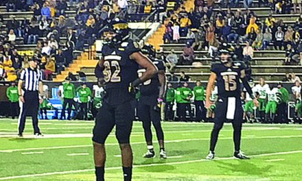 Golden Eagles Soar Past Mean Green 45-27