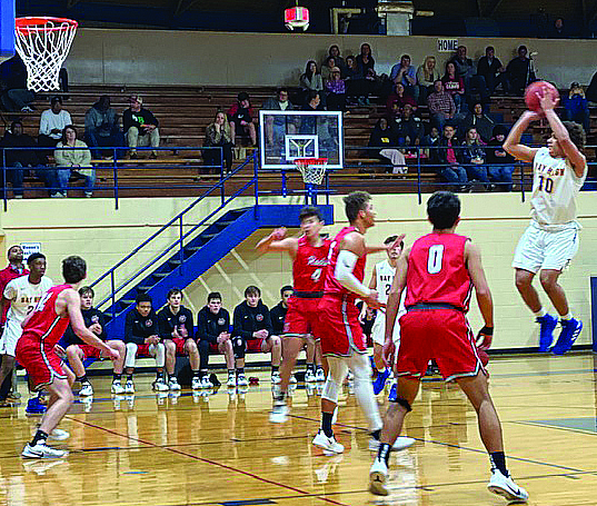 Tigers Roll Over Rocks on the Court 71-51
