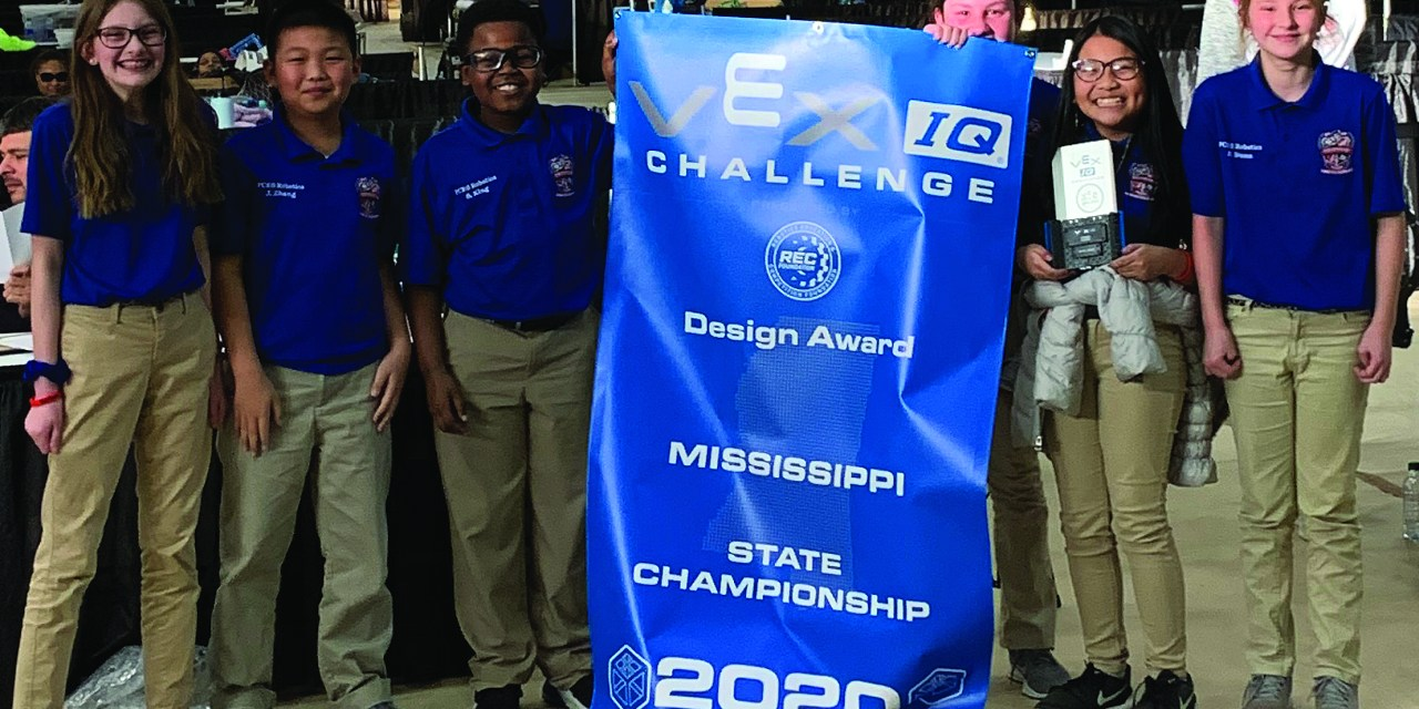 PCES Wins Best Design Award in Robotics State Championship