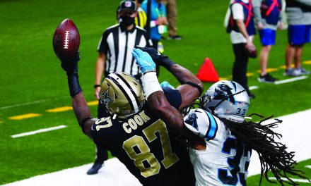 Brees Lifts Saints Past Panthers 27-24