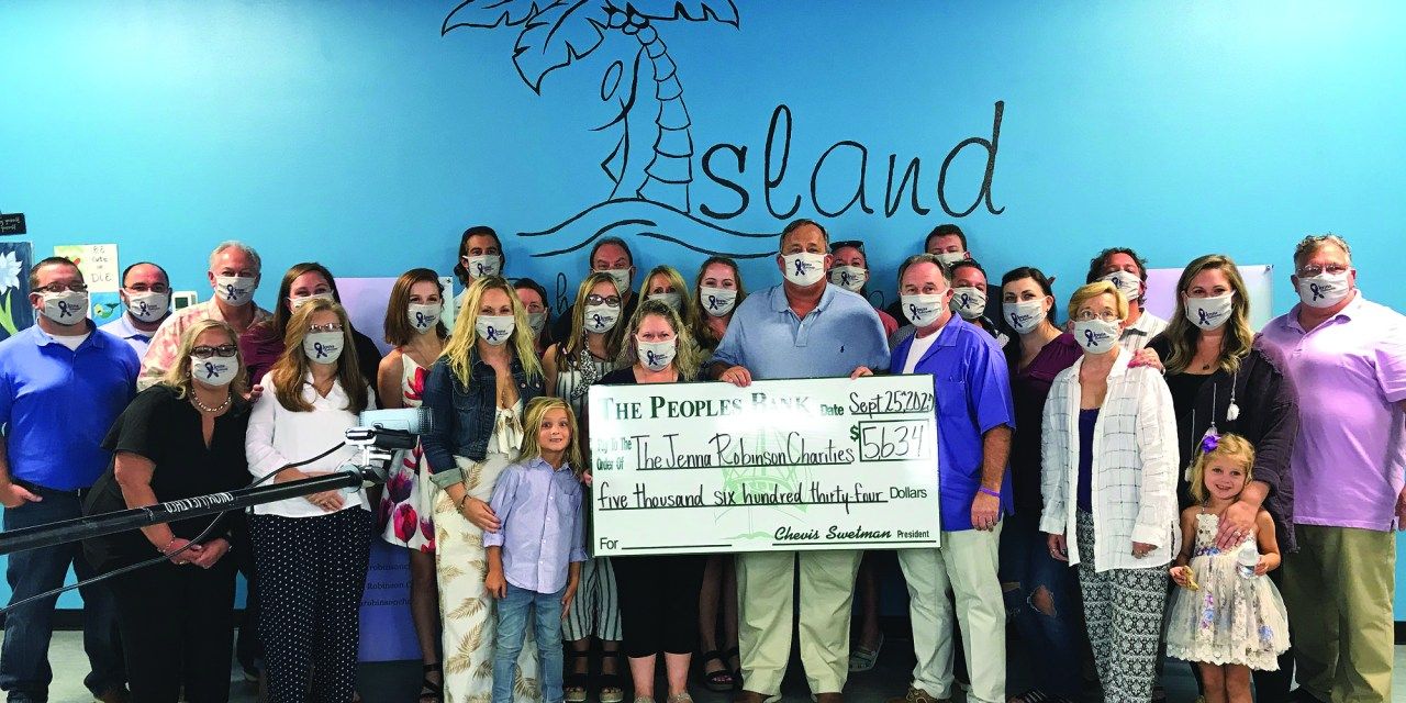 The Peoples Bank Announces Raised Funds for Gulf Coast Charities