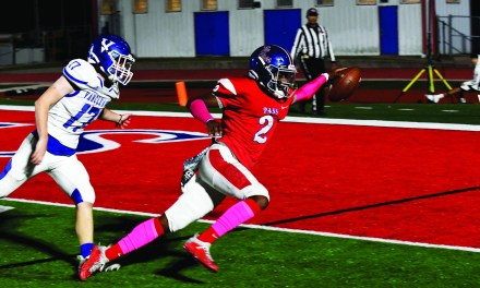 THE GAME OF INCHES:  Pirates Lose Close Game to Vancleave 40-28