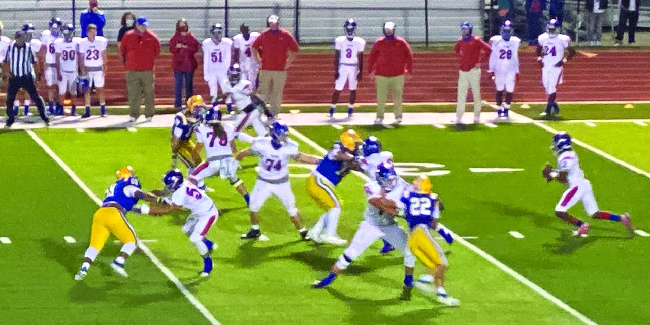 Tigers Edge Pirates 45-43 in First District Game