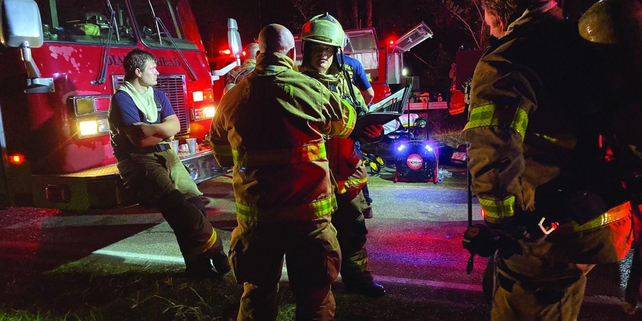 Fatal House Fire Destruction in Rural Pass Christian