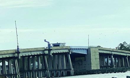 Bayou Portage Bridge in Pass Christian One-Lane During Week