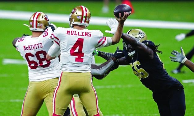 Saints Overcome Injuries, Beat 49ers 27-13
