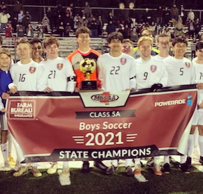 FOURTH TIME CHARM:  Long Beach Wins Boys Soccer 5A State Championship