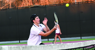 Bearcats Tennis Wins First District Match