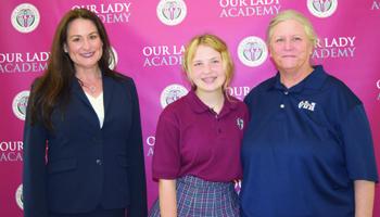 OLA Student Nominates Goggins for Teacher's Award