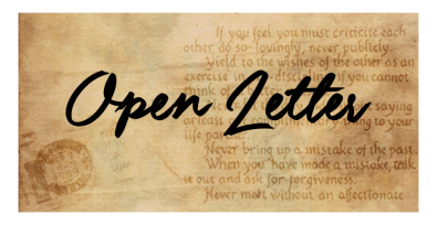 Image result for open letter