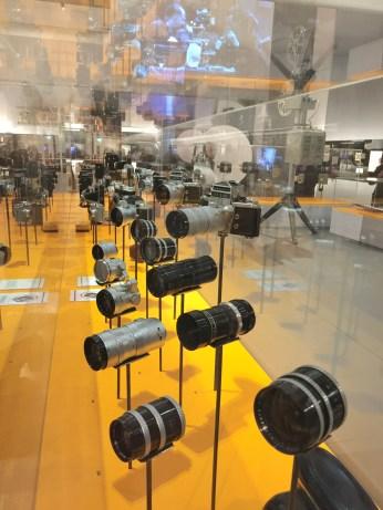"""Exposition """"Zoom : Angénieux changez d'Optiques"""" musée d'Art et d'Industrie de Saint-Etienne"""