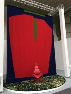 """Tapisserie """"Composition Abstraite"""" d'après une huile sur toile de 1968 de Serge Poliakoff, manufacture des Gobelins, coll. Mobilier National"""