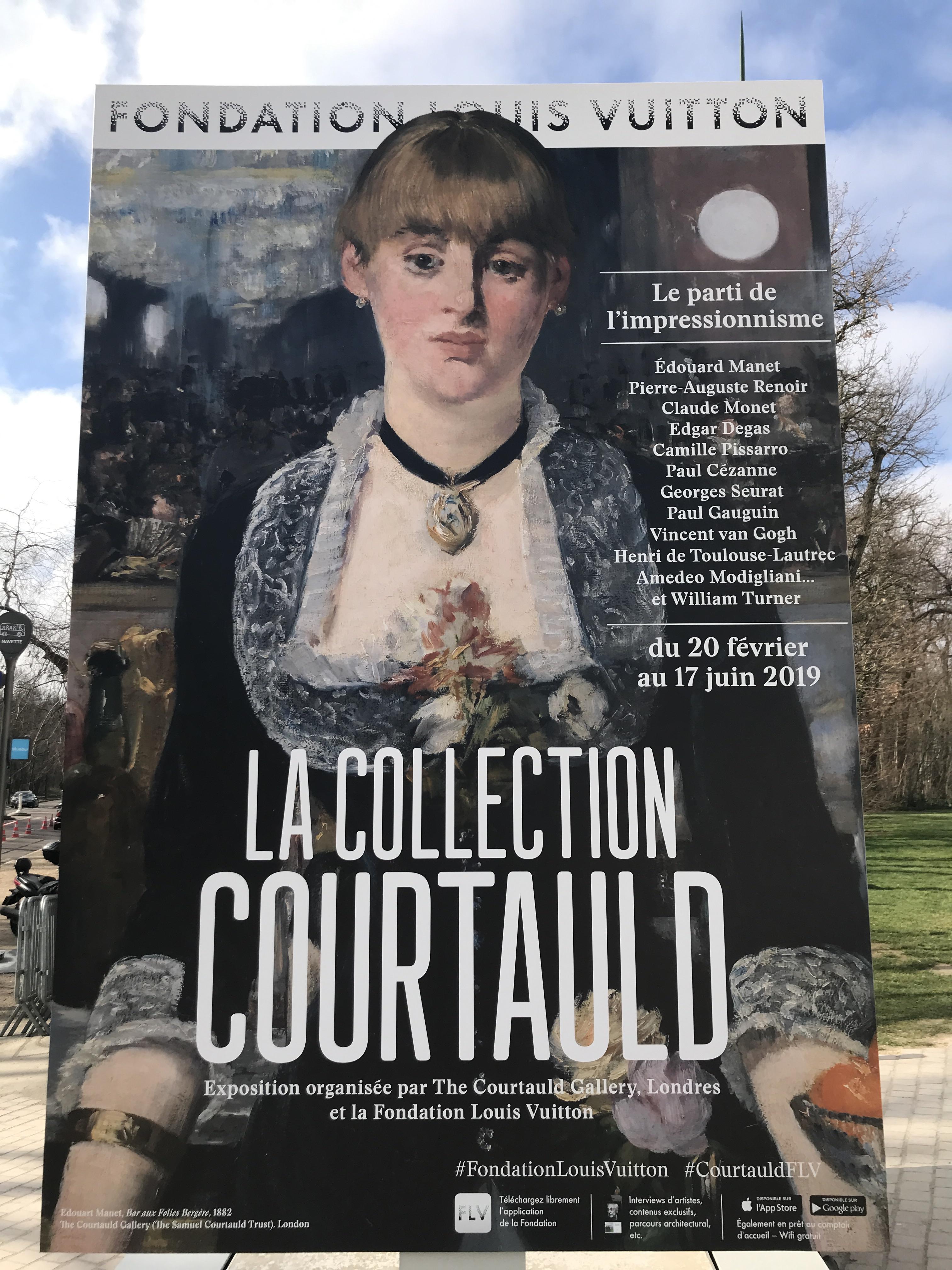 Collection Courtauld Fondation Louis Vuitton : collection, courtauld, fondation, louis, vuitton, Collection, Courtauld, Fondation, Louis, Vuitton, Parisienne
