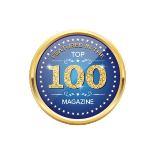 top 100 magazine featured in