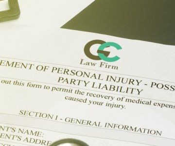 personal injury document pic