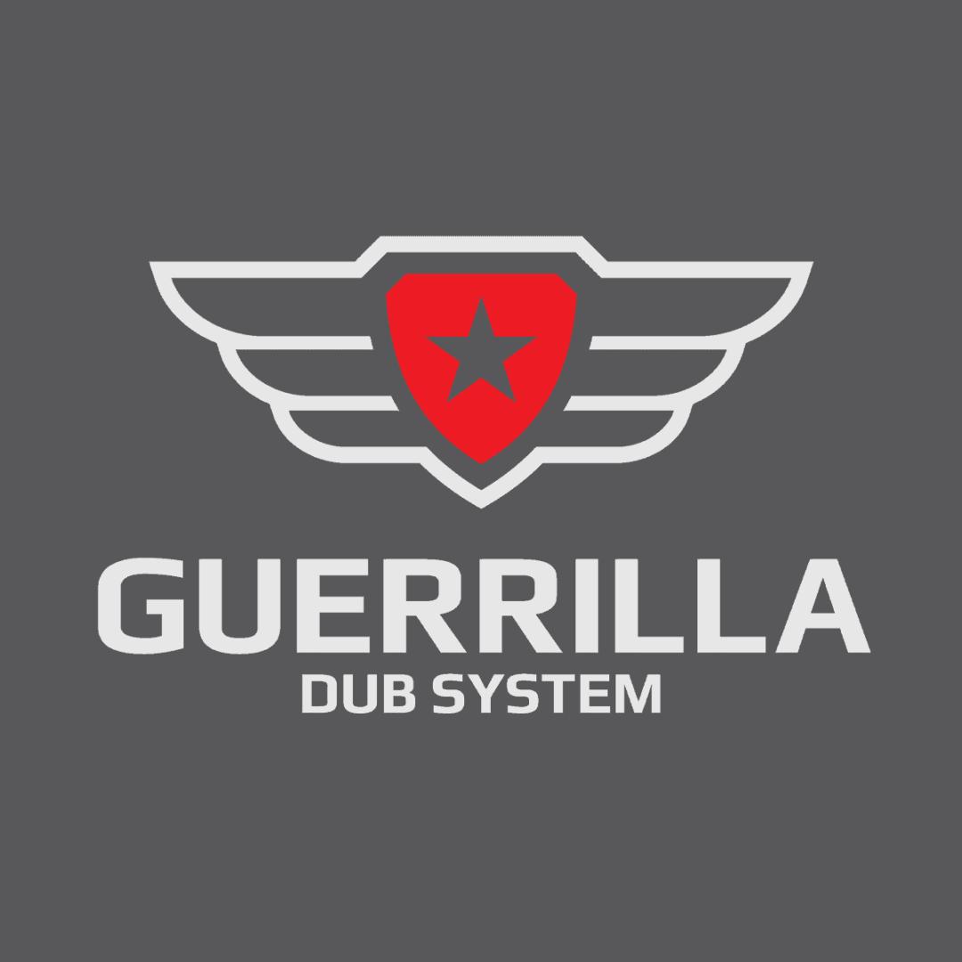 Sound System Logo Guerrilla Dub System