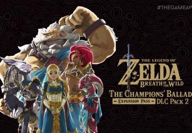 The Champions' Ballad, novo DLC de conteúdo de Breath of the Wild anunciado