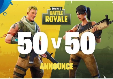 Battle Royale Anuncia novo modo 50x50