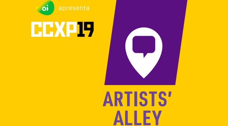 Artist's Alley abre inscrições para que você possa expor seu trabalho na CCXP19