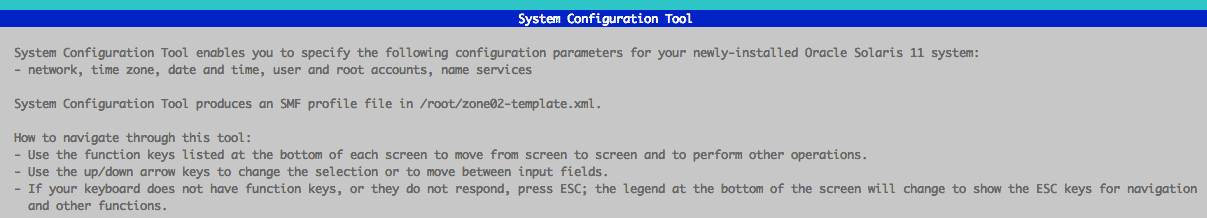 System configuration tool