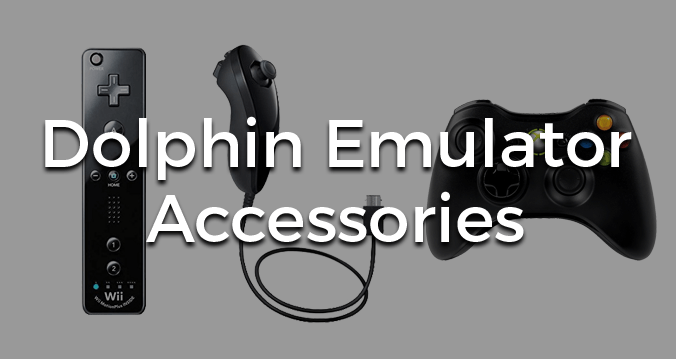 Dolphin Emulator Accessories