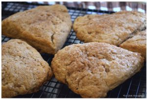 Brown Sugar Cinnamon Scones