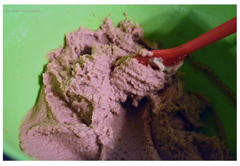 overmixed macaron batter