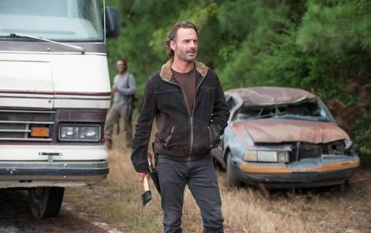 Not Tomorrow Yet The Walking Dead Rick Grimes