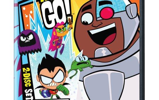 Teen Titans Go! Season 3 DVD Eat. Dance. Punch!