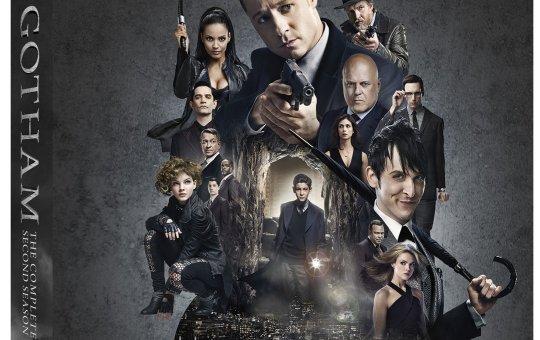Gotham Second Season DVD Blu-ray
