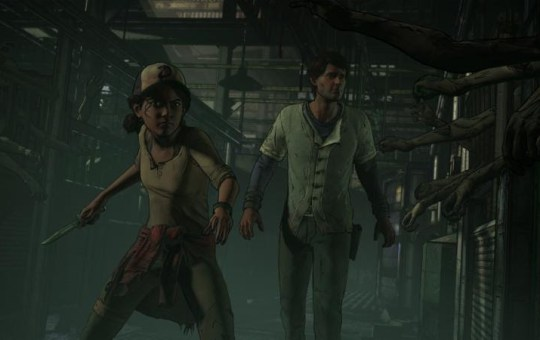 The Walking Dead Season 3 A New Frontier Clementine and Javier