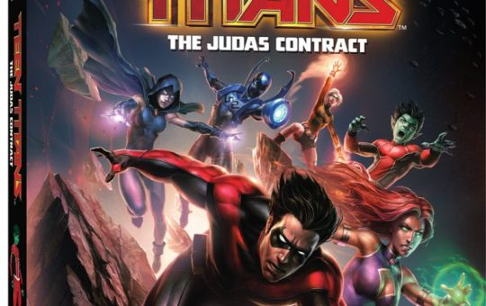 Teen Titans Judas Contract cover release date DVD Blu ray