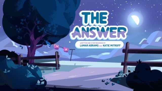 Steven Universe Season 2 The Answer