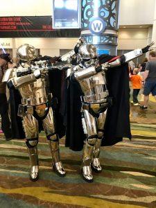 Star Wars Celebration Orlando Cosplay Captain Phasma