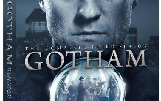 Gotham Season 3 Blu-ray DVD Warner Bros Home Entertainment release