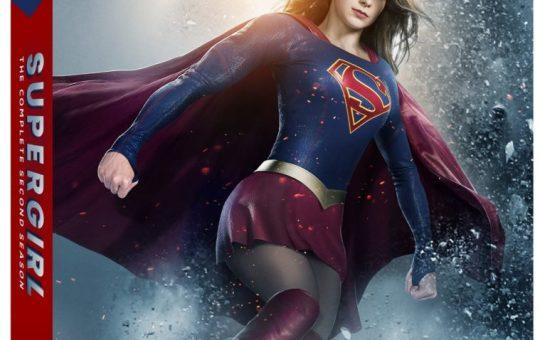 Supergirl Season 2 blu-ray
