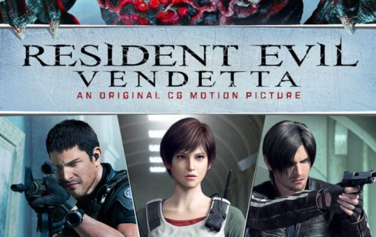 resident evil vendetta dvd blu ray song release