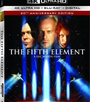 The fifth element sony pictures home entertainment 4K ultra HD release