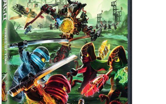 Hands of Time LEGO Ninjago Season 7 DVD Warner Bros Home Masters of Spinjitzu Season 7