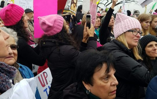 women's march cosplayers rally against hate