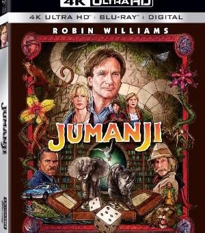 Jumanji 4K ultra hd release sony pictures