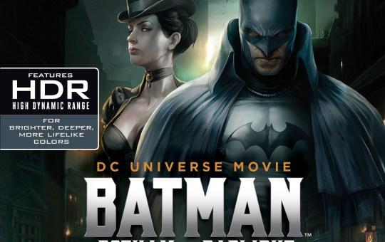Batman Gotham by Gaslight Warner Bros release Blu-ray DVD 4K